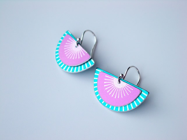 Earrings by Tanith Rouse